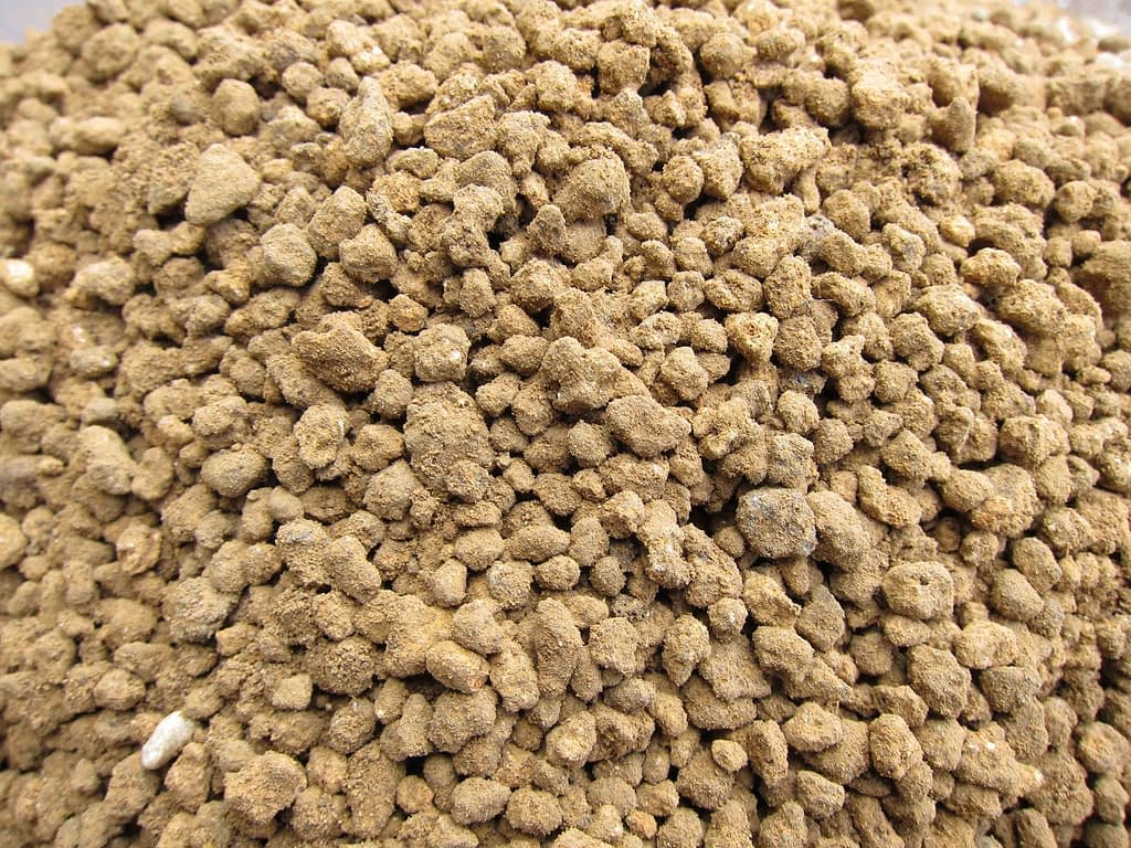 Akadama Bonsai Soil particles